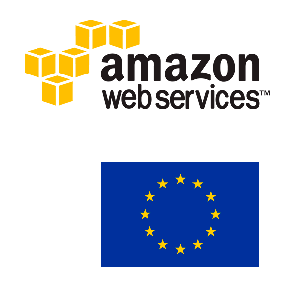 Data storage with Amazon Web Services (AWS)