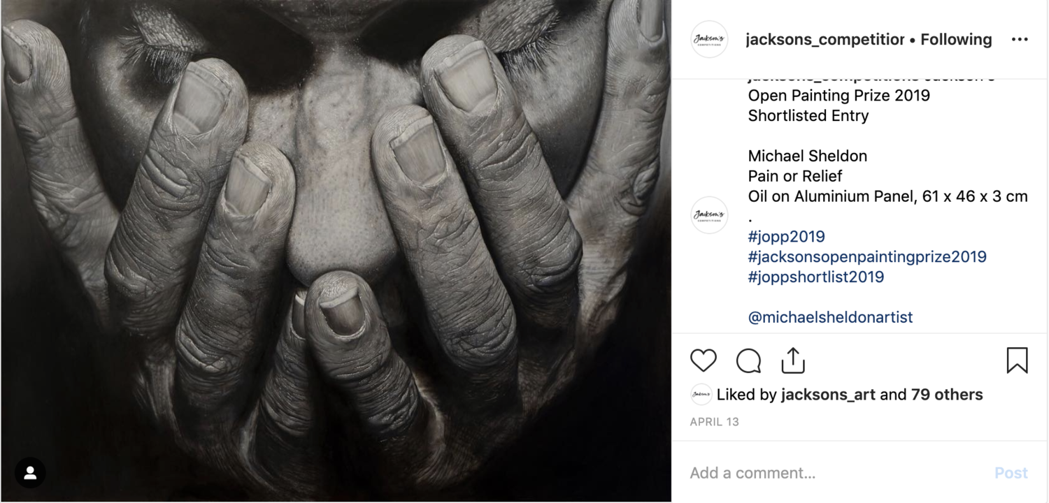 Instagram post jacksons competition