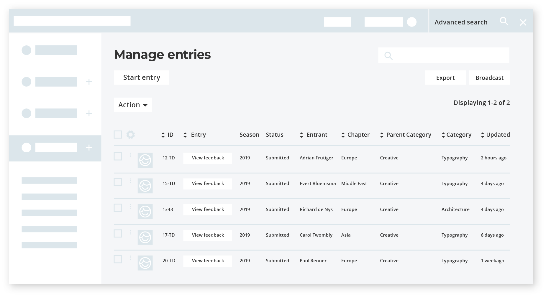 Get organised and save time with awards management software