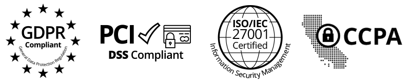 GDPR compliant, PCI DSS compliant, ISO 27001 certified and CCPA compliant awards management software